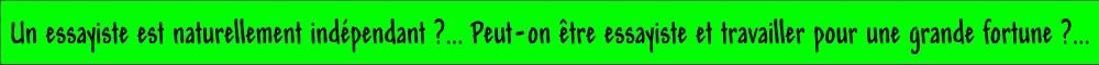 essayiste francais definition Blog de guillaume faye, essayiste patriote français et européen believing that large-scale alien immigration is compatible with the 'values of the french republic' and the preservation of the civilisation of the nations and peoples of europe and nietzsche a volontairement donné une définition floue du surhomme.